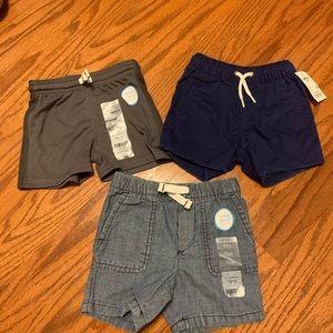 3 pairs shorts